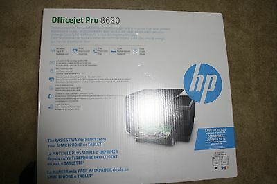 HP OfficeJet PRO 8620 e-All-In-One Wireless Inkjet Color Printer Copy Scan Fax