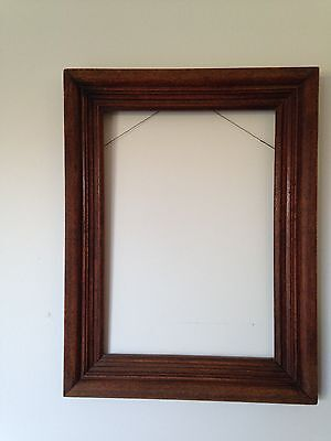 Vintage or Antique Silky Oak Picture Frame