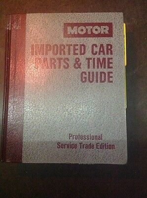 MOTOR Imported Car Parts & Time Guide 1988-94