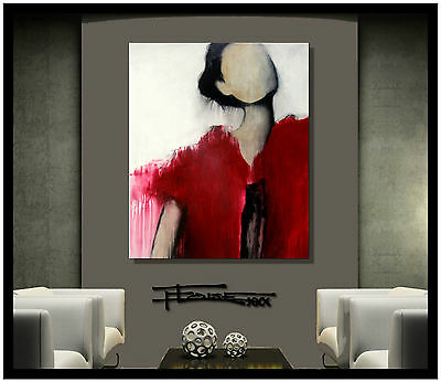 ABSTRACT MODERN PAINTING CANVAS WALL ART 36 US Artist ELOISExxx