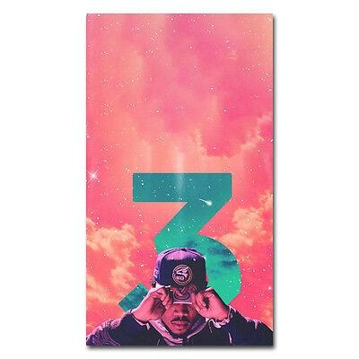 Chance the Rapper Hot Music Rap Star Art Silk Poster Print 13x20 24x36''