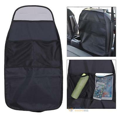 Car Seat Back Protector Cover for Children Babies Kick Mat Protect Storage Bag