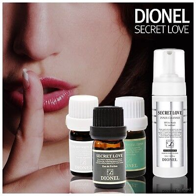DIONEL Secret Love Feminine Perfume Cleanser Natural Aroma Fragrance Korea 5ml
