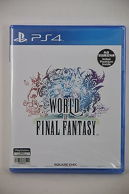 NEW PS4 Pro World of Final Fantasy FFW (HK Chinese Version)