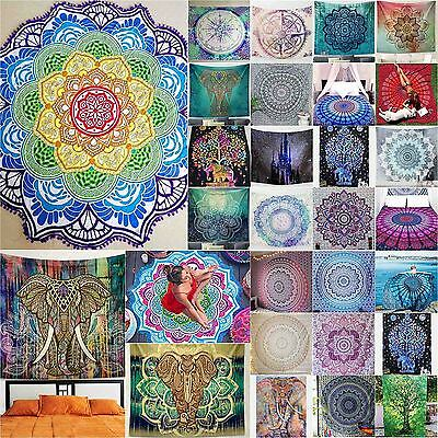 Indian Star Mandala Wall Hanging Tapestry Cover Psychedelic Hippie Throw Ethnic