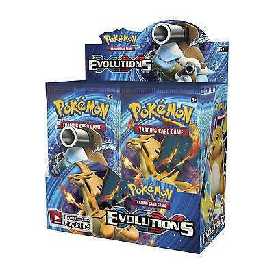 1x Pokemon XY Evolutions Booster Pack - TCG 10 Card Blister Pack NEW SEALED