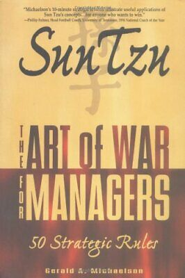 Sun Tzu: The Art of War for Managers; 50 Strategic Rules by Sun-tzu Paperback