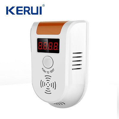 GD11 Wireless Digital LED Display Combustible Gas Detector Natural Gas Alarm