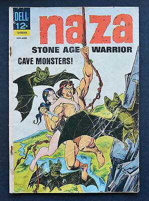 NAZA: STONE AGE WARRIOR #5 FR/GD to GD Dell Jan-March 1965