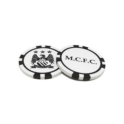 Manchester City F.C. Poker Chip Ball Markers