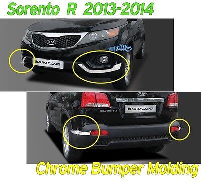 Chrome Rear Tail Light Lamp Cover molding Garnish For KIA 2010-2012 Sorento R