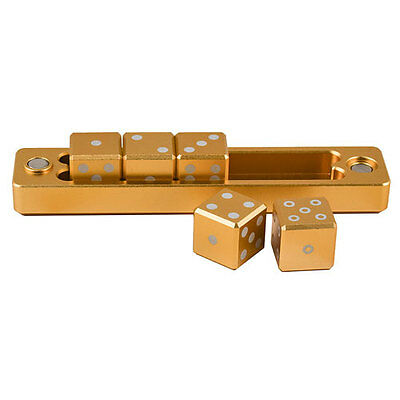 ULTRA PRO Gravity Dice - D6 - 5 Dice Set - Gold NEW * Gaming Accessories