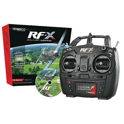 RealFlight RF-X Flight Simulator with Interlink-X Controller - A-GPMZ4540