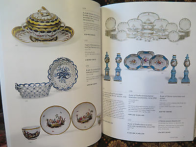 COLLECTIONS Sotheby's Auction Catalog Inc Meissen Sevres Augsburg Clock Furnitu*