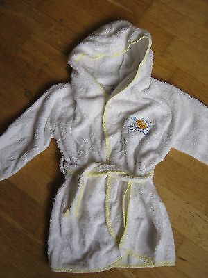Infant toddler Grobag towelling dressing gown 6-12 months