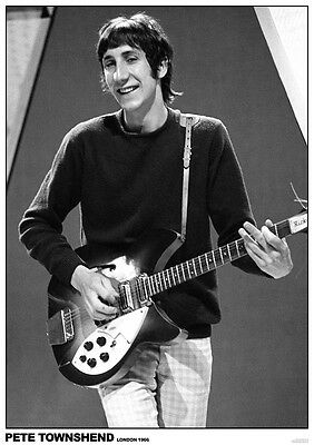 "Pete Townshend/The Who NEW A1 Size 84.1cm x 59.4cm - 33"" x 24"" Poster"