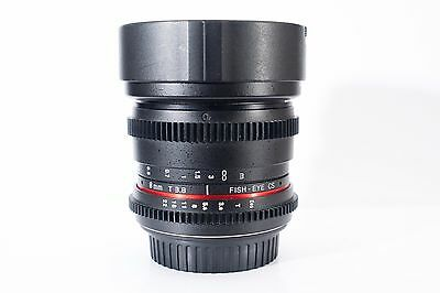 Samyang 8mm f/3.5 Aspherical IF MC CS Lens - Canon EF