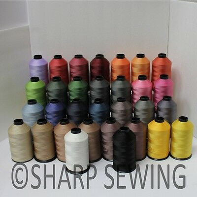 #69 Nylon Sewing Thread Bonded Tex70 8 Oz Cone Leather Canvas Upholstery Luggage