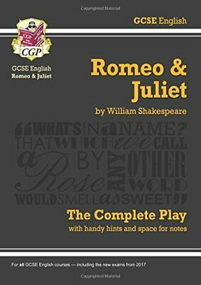 Grade 9-1 GCSE English Romeo and Juliet - The Complete... by CGP Books Paperback
