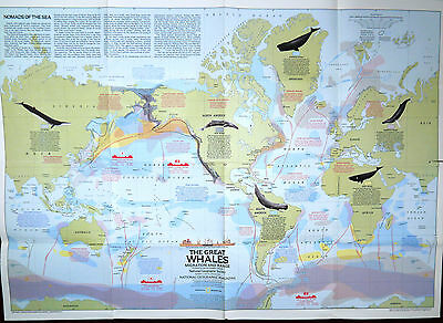 Vintage National Geographic map Oct 1974: USA, South Central States