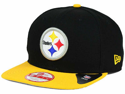 size 40 b358d f18d1 New Era Pittsburgh Steelers NFL Historic 9FIFTY Snapback Cap -Free Shipping-