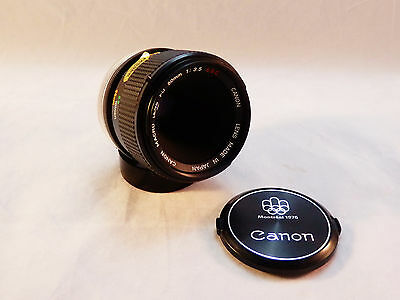 Canon FD 50mm F/3.5 Macro S.S.C. Manual Lens Excellent Conditions
