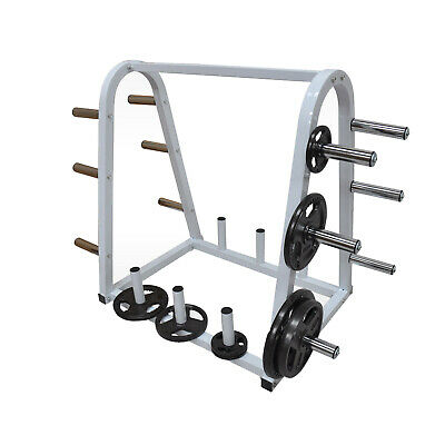 Weight Plates Storage Station - Home Gym Weight Plate Storage Rack - Weight Tree