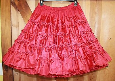 Square Dance Petticoat ~ Fashion Magic by Fender ~ 2 Layers ~ Red
