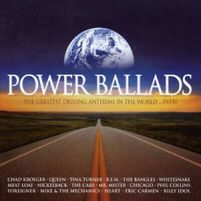 Various Artists : Power Ballads CD (2003)