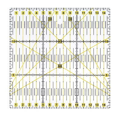 Quilting Sewing Patchwork Ruler Cutting Tool  Acrylic Thick Transparent Tool