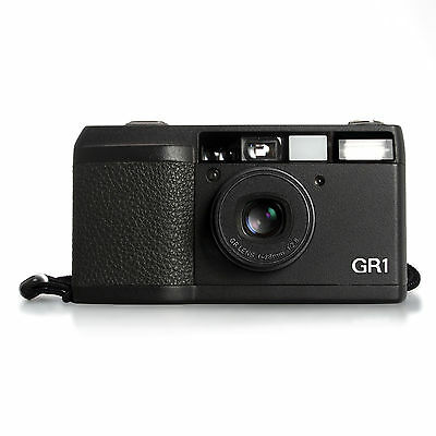 Ricoh GR1 35mm Film Point And Shoot Camera No Flash