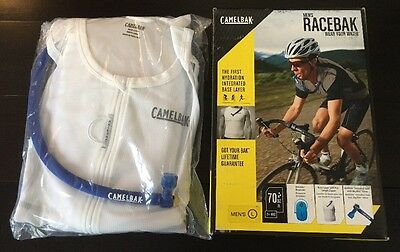 CamelBak RaceBak Men's Hydration Shirt Base Layer- Size: Large 70oz