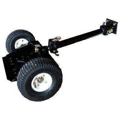 SULKY WALK BEHIND Mower Accessory Lawnmower Attachment 2 Wheel Quick Release