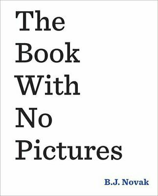 The Book With No Pictures by Novak, B. J. Book The Cheap Fast Free Post