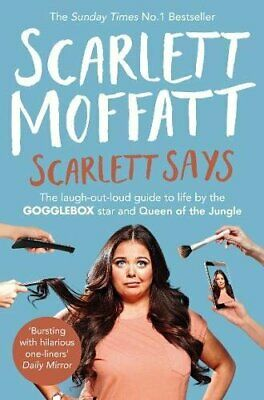 Scarlett Says by Moffatt, Scarlett Book The Cheap Fast Free Post