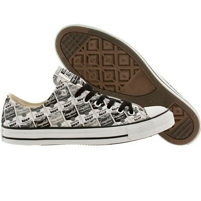 $69.99 Converse x Andy Warhol Men Chuck Taylor All Star Low Ox black white mason