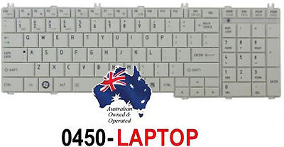 Keyboard for Toshiba Satellite L750D/050 PSK36A-050011 White Laptop Notebook