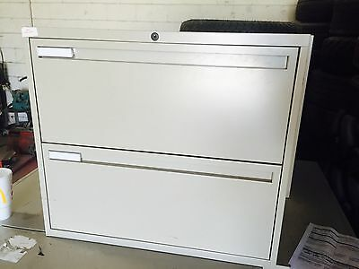 Global Metal 2 Drawer Office Lateral File Cabinet