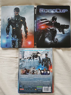 "Blu-ray Steelbox ""Robocop"" 2014 neuf sous blister"