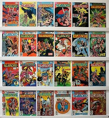 DC Warlord Lot of 58