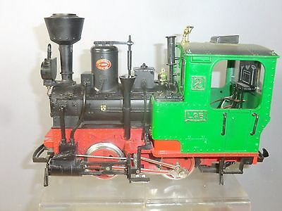 """Vintage """"g"""" Scale  Lgb 0-4-0T Tank Loco With  Working Smoke, Lights & Noise"""