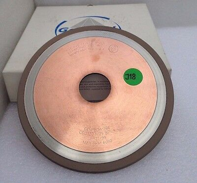 Diamond Grinding  Wheel. GENERAL. IND. DIAMOND .USA.   1V1   6 x 1/4 x 1 1/4 x