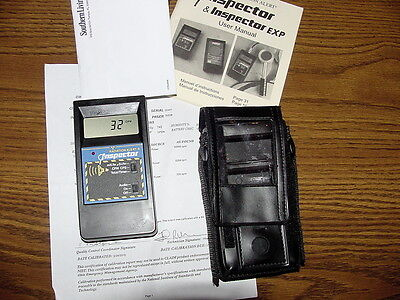 SEI Radiation Alert Inspector EXP Geiger counter NO PROBE