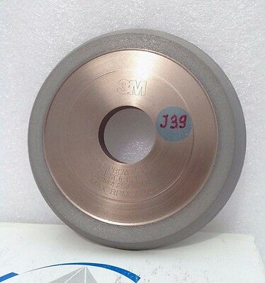 3M GENERAL. IND. DIAMOND .USA. Grinding Wheel .  1V1   5 x 1/2 x 1 1/4 x