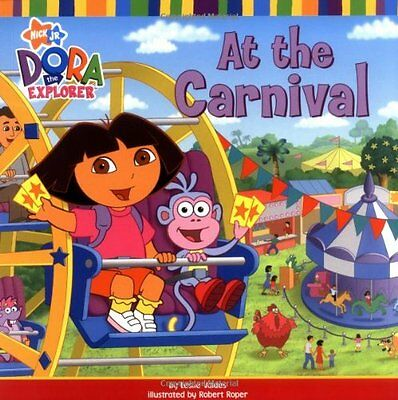 At the Carnival (Dora the Explorer), Nickelodeon Paperback Book The Cheap Fast
