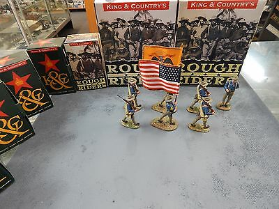 1/30 scale Collectable Toy Soldiers Rough Riders Colour Party by King & Country