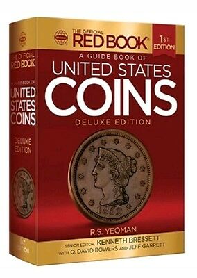 2016 Red Book Guide Book of United States Coins Deluxe 1st Edition YEOMAN