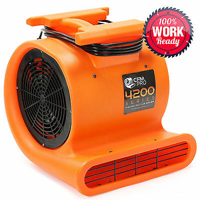 Air Mover Carpet Dryer Blower Floor Drying Industrial Fan - 1 hp