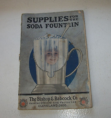 Soda Fountain Catalogues – Bishop & Babcock Co. Cleveland OH March 1919