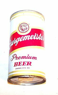 Burgemeister Warsaw  50-16  Pull Top Beer Can A1+ Soda Sign Flat Cone Tab Ofr